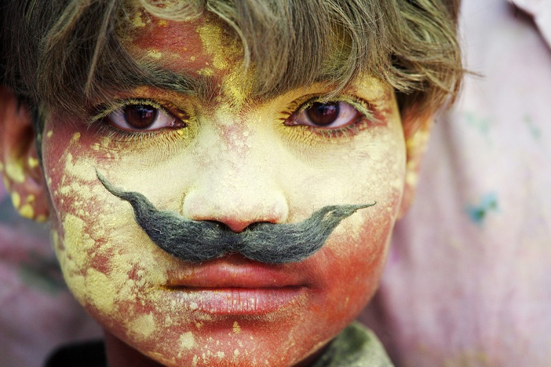 Images from India's colourful Holi Festival.