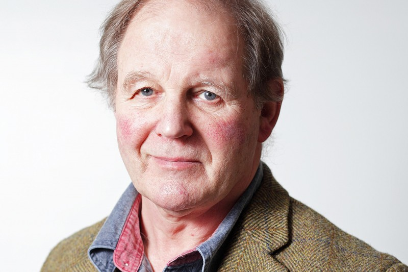 A portrait of Michael Morpurgo, photographed for the Climate Coalition's Show the Love campaign. Morpurgo wrote the script for a short film the Climate Coalition commissioned from Ridley Scott Associates. The film starred Jeremy Irons and Maxine Peake.