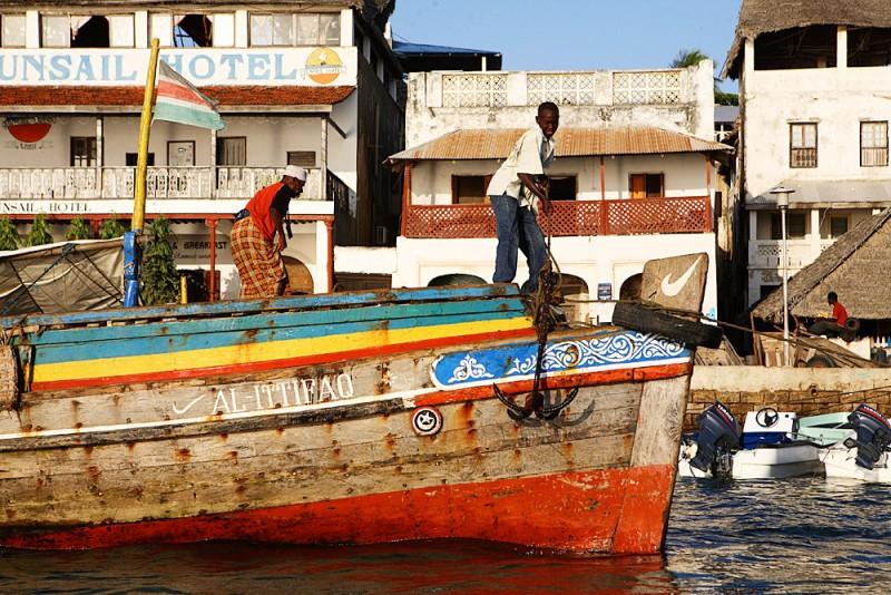 Lamu in Kenya, Africa