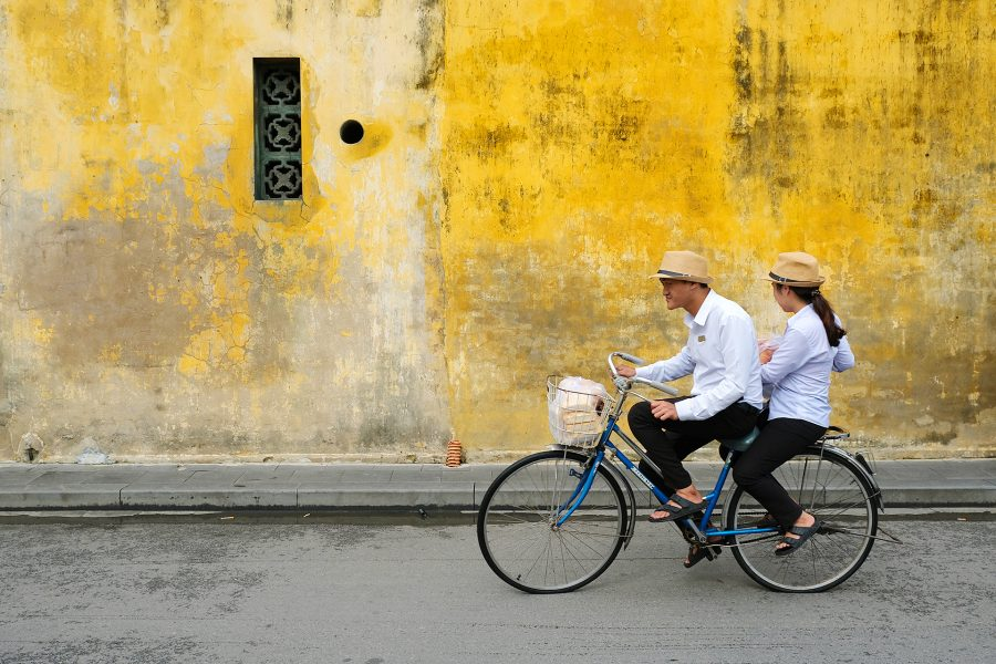 Images captured on a road and rail trip from Hanoi to Ho Chi Minh City in Vietnam.